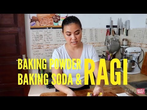 APA ITU BAKING POWDER, BAKING SODA DAN RAGI