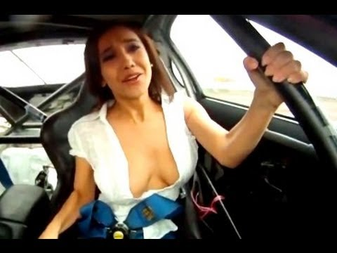Girl in toyota supra manizha faraday