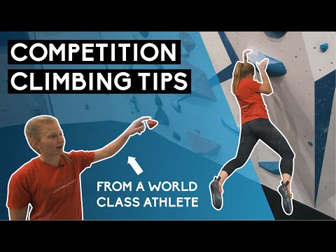 Competition Climbing Tips - Indoors at The Depot Gym