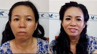 makeup nữ tính u 50 -  makeup midlife
