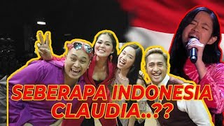 SEBERAPA INDONESIA CLAUDIA..?? | Claudia The Voice of Germany