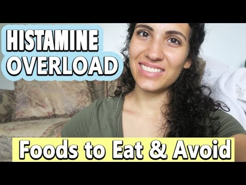 HISTAMINE OVERLOAD   FOODS TO EAT & AVOID   INFLAMMATION
