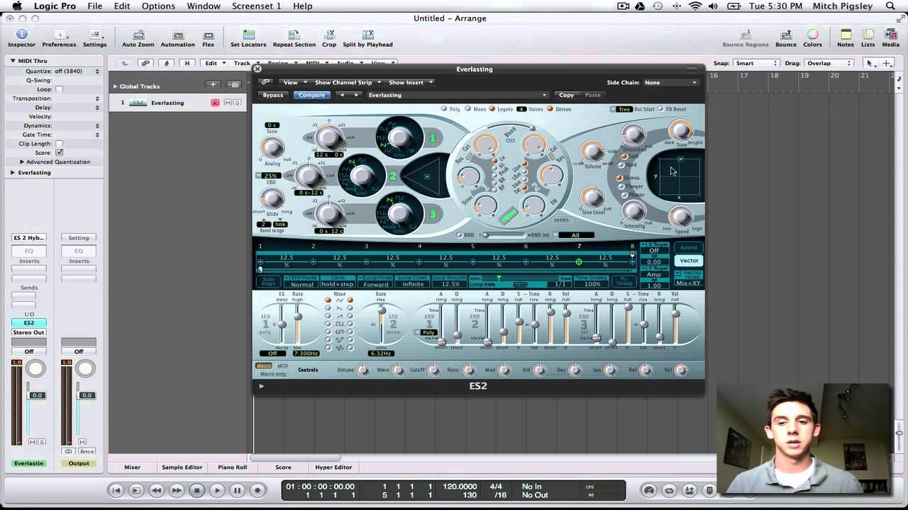 logic pro 9 synths