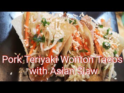 pork-teriyaki-wonton-tacos-with-asian-slaw