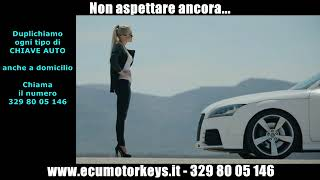 Realizziamo ogni tipo di chiave auto - Siamo a Roma - Spot 1