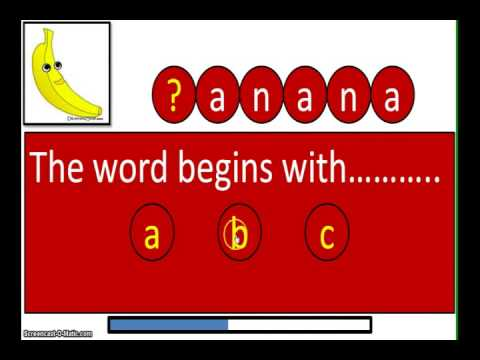 Alphabet Letters With Pictures Ppt