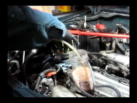 How to change Power Steering Fluid - Toyota / Rav4 1996 1997 1998 1999 2000  2001 2002 2003 2004 2005