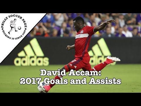 David Accam: 2017 Goals and Assists