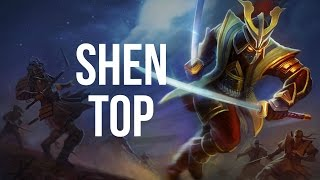 League of Legends - Warlord Shen Top - Full Game Commentary
