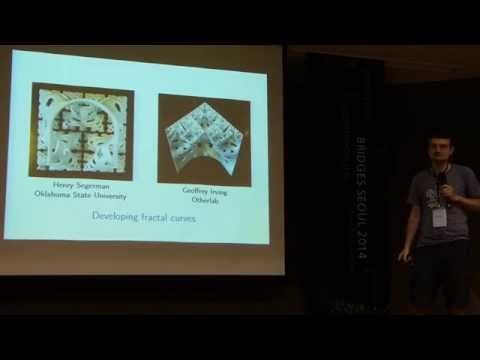 Bridges 2014 JMA talk: Developing fractal curves