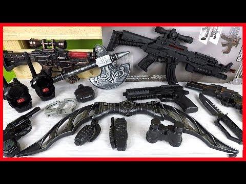 Oyuncak Balta - Avcı Oku - Silahlar Ve Tüfekler - El Bombası - Kapsül Silah - Guns Toys - Sam's Toys