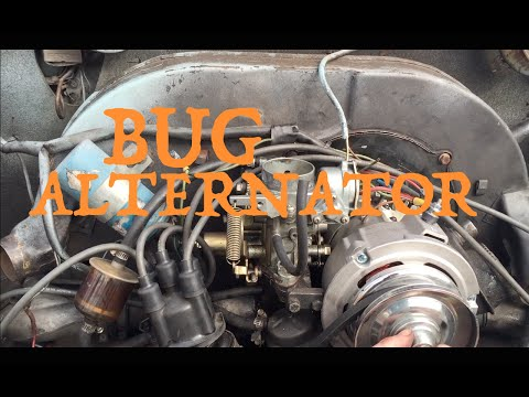 Replacing The Alternator In A 74 Bug