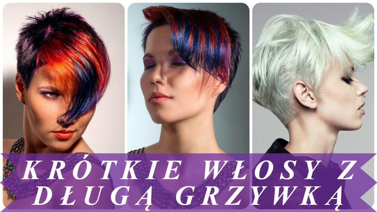 Top 20 Krotkie Fryzury Z Dluzsza Grzywka 2018