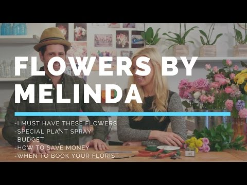 Hooked Weddings Episode 1.5 When should I book my florist and how to keep flowers fresh.