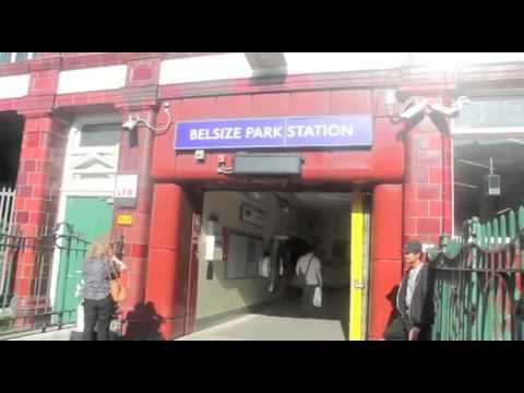Belsize Park Station Northern Line