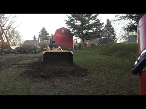 1958 Oliver OC 46 3D diesel crawler loader