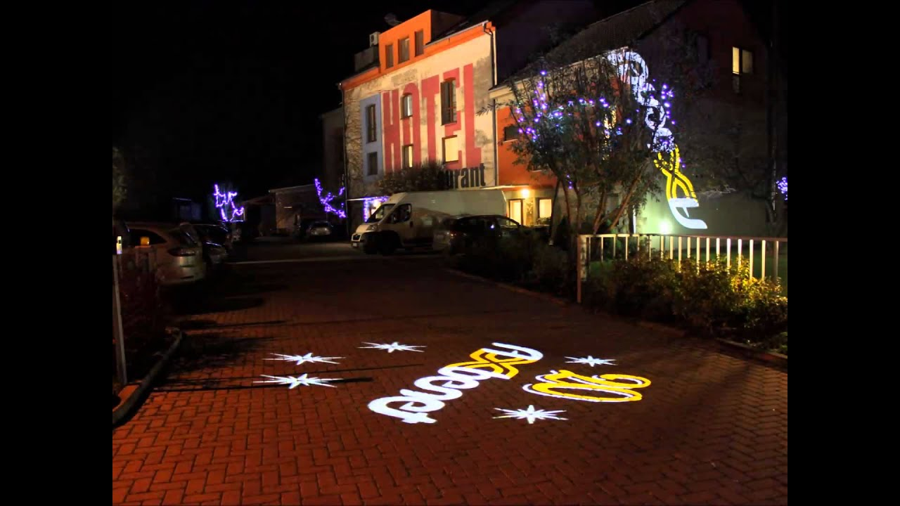 Event Gobo Projection Light Projection Lichtprojektion