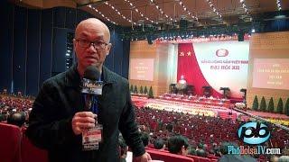 Trong ngoài phiên khai mạc Đại hội 12 Đảng Cộng Sản Việt Nam