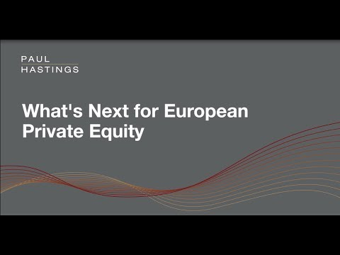 What's Next for European Private Equity