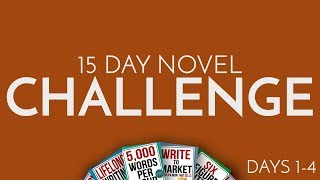 Gambar cover 15 Day Novel Challenge Days 1 to 4