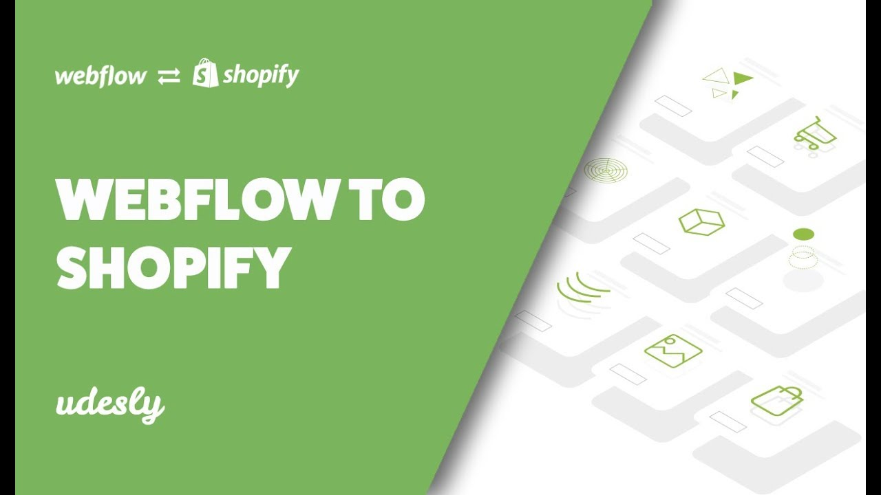 Webflow to Shopify | Shopify theme with Webflow | Udesly com