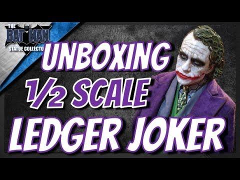 Unboxing: The Dark Knight Heath Ledger Joker 1/2 Scale Statue From Prime 1 Studio!
