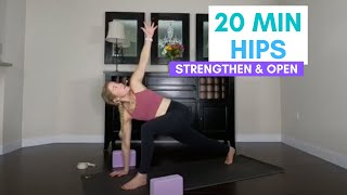 20 Min Hip Strengthening & Opening