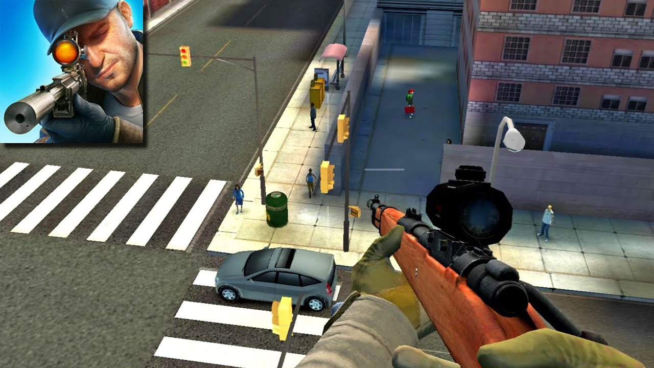 ApkMod1.Com Sniper 3D Assassin v2.16.7 + МOD (Coins/Gems) download free Action Android Game