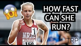 KATELYN TUOHY - HOW FAST CAN SHE RUN?