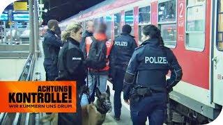 Zug voller Fußballfans: Bierdose wird zum Geschoss!   Achtung Kontrolle   kabel eins