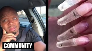 These Are Live Ants In Her Nails - KevOnStage | All Def Community