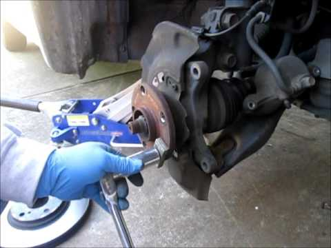 How to replace a broken lug nut stud.