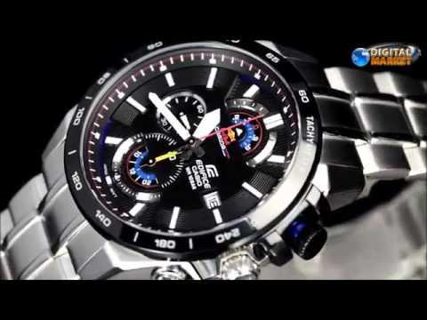 43d1d7d16b3 Relógio Estilo Casio Red Bull Racing EFR 520RB 1AJR - YouTube