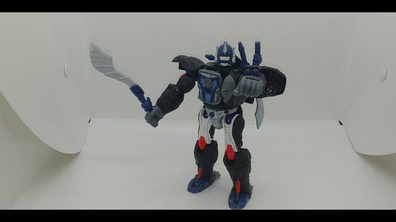 Chuck's Reviews Transformers Kingdom Optimus Primal