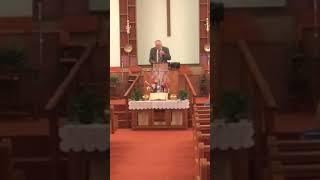Pastor James White Fellowship Baptist Church..guest singer Roger Huskins..stand in Pastor Dan Boyle