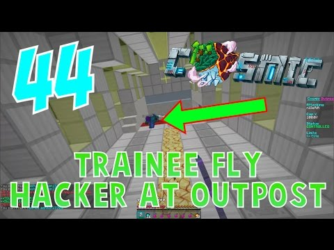 """TRAINEE FLY HACKER AT OUTPOST!"" - CosmicPVP Ice Planet Factions (Season 3 EP 44)"