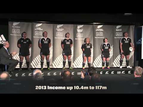 New Zealand Rugby Towards 2016