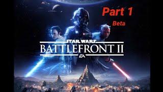 Battlefront II beta gameplay (Xbox one)