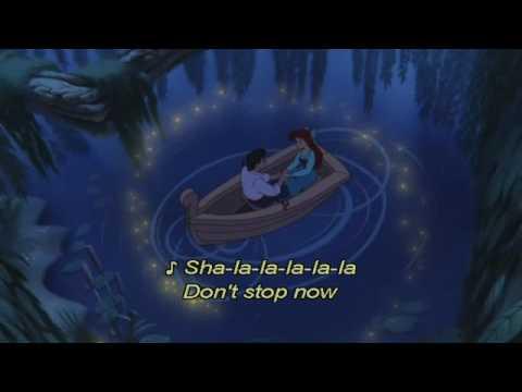LITTLE MERMAID - KISS THE GIRL LYRICS