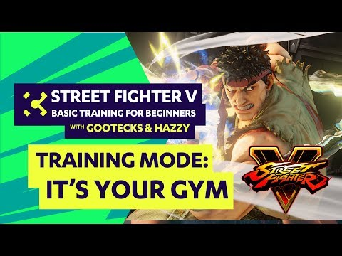 Street Fighter V Tutorial for Beginners ft. gootecks & Hazzy - Cross Counter Training #01