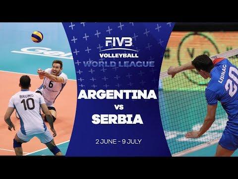 Argentina v Serbia highlights - FIVB World League