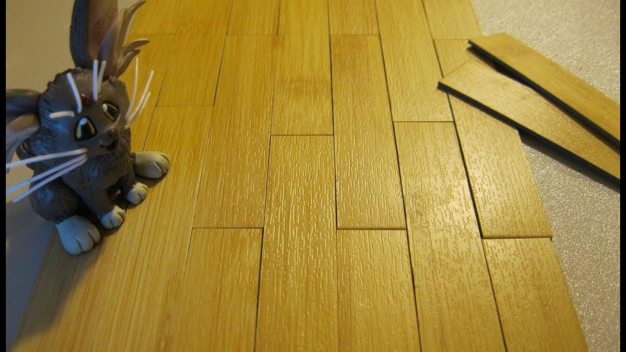 Quick Tip Miniature Flooring For Dollhouse Diorama