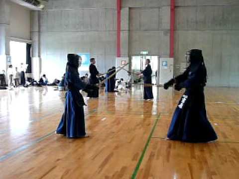 高校剣士 vs CREDGE剣士 2