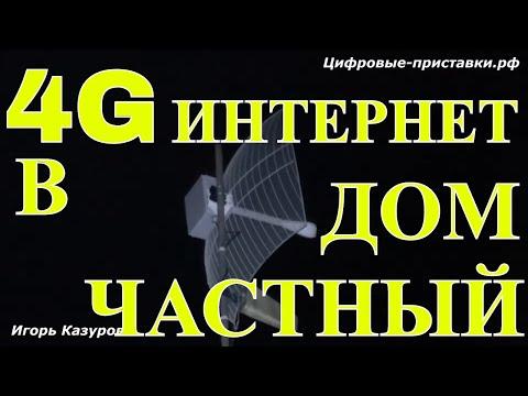 4g интернет в частный дом | Игорь Казуров