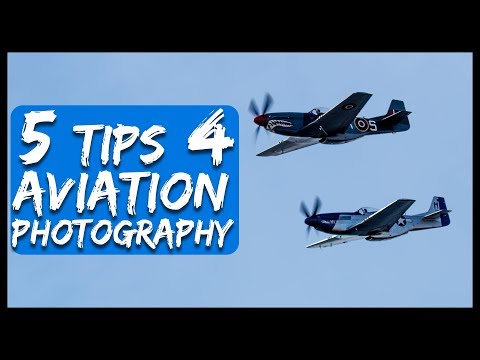 How to photograph planes. 5 Aviation Photography Tips and Techniques