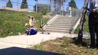 Throwaway iPhone skate clips eating shit