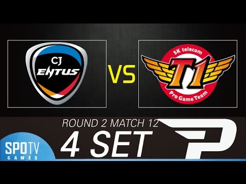 [SPL2016] ByuL(CJ) vs soO(SKT) Set4 Dusk Towers -EsportsTV, Starcraft 2