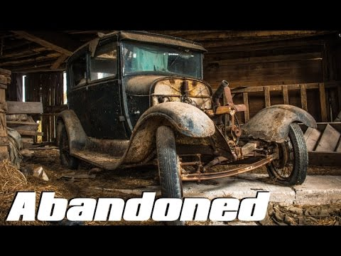 ABANDONED Car Graveyard - Old Classic Cars (FOUND 1930 Ford Model T !!)