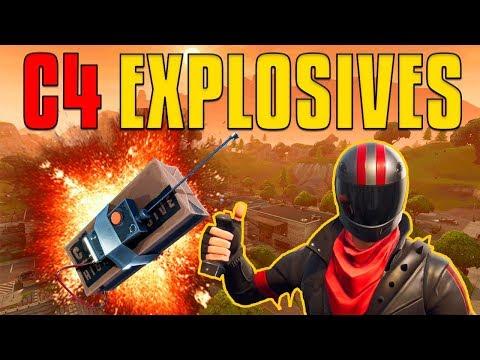 C4 Explosives | Fortnite Battle Royale