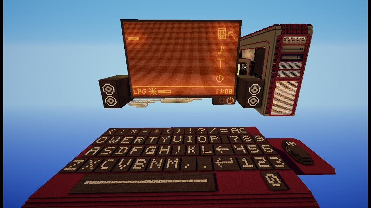 minecraft programmable redstone computer